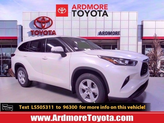 2020 Toyota Highlander For Sale Near Philadelphia Pa 200910