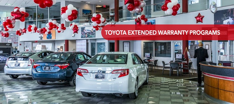 Toyota Extended Warranty Programs From Ardmore
